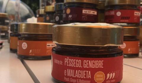 Pêssego, Gengibre e Malagueta
